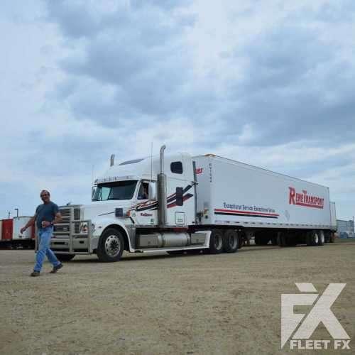 Rene Transport Semi Trailer and Cab Decals - Fleet FX Graphics